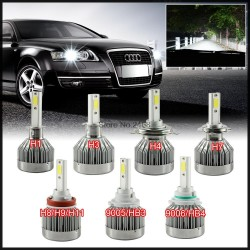 60W 6000Lumen Car LED Headlights