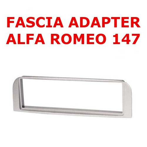 1DIN Fascia Adapter Radio Panel Alfa Romeo 147