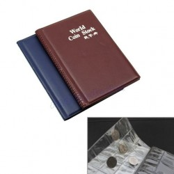 120 Coins Collection Pocket Album Book