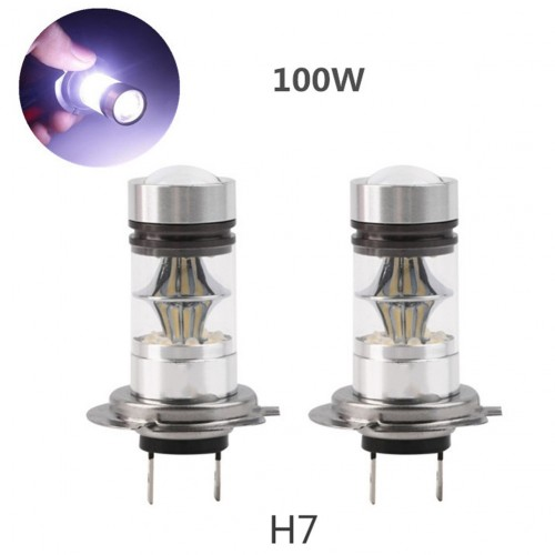 H7 High Power 100W LED 750LM 6500K