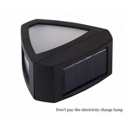 Retro Wall Mounted Solar Lamp 2 LED
