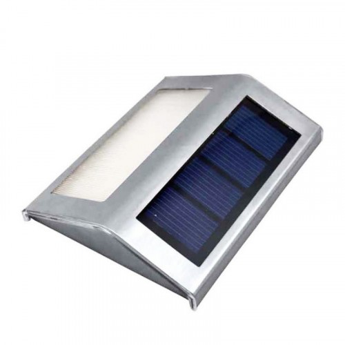 Outdoor Solar Powered Stair Fence Garden LED Light
