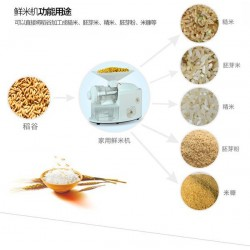 Mini Household Automatic Rice Polishing Machine