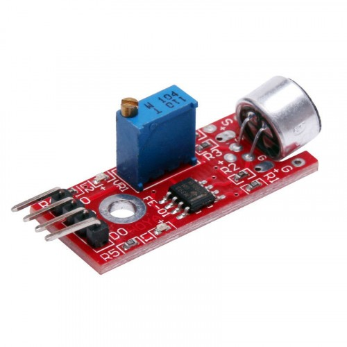 High Sensitivity Sound Sensor Module for Arduino