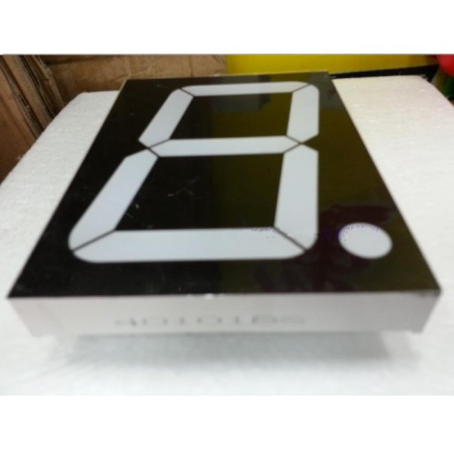 "4"" inch 1 Digit 7-Segment Red LED Numeric Digital Display,Common Anode."