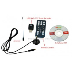 Mini Digital TV Stick USB 2.0 DVB-T Tuner Receiver
