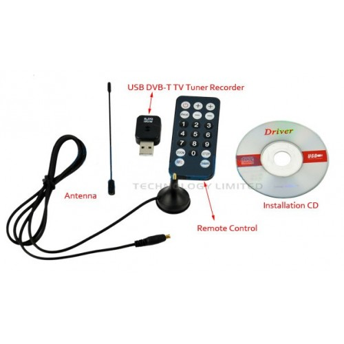 Mini Digital TV Stick USB 2.0 DVB-T Tuner Receive
