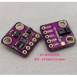 Heart Rate Click MAX30100 Sensor for Arduino