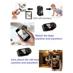 Mini WIFI IP P2P Camera