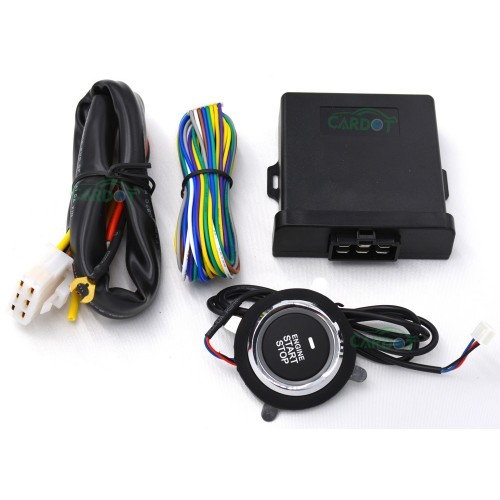 New Car Engine Push Start Stop Button with Remote Start Function