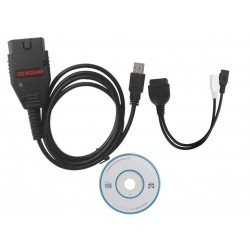 Galletto 1260 ECU Chip Tuning Interface EOBD2 Cable With Multi Languages