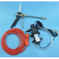High Pressure Water Pump 12V 60W Portable Car Washer Gun