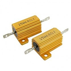 25W 6.8Ohm LED Load Resistor for 12V 21W Car Bulb