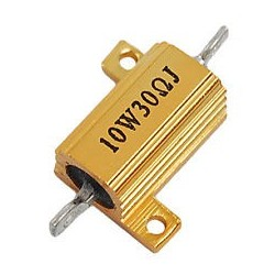 10W 30Ohm LED Load Resistor for 12V 5W Car Bulb
