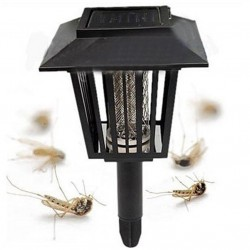 Mosquito Killer Solar Powered Lawn Lamp Outdoor