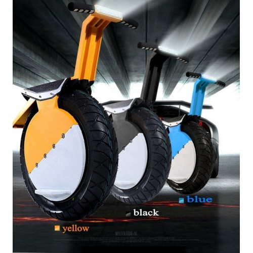 One Wheel 17 inch Tire Monocycle Self Balancing Unicycle Electric Scooter 500W Lithium Battery 360Wh