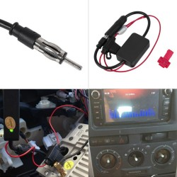 12V Car Automobile FM/AM Radio Signal Amplifier