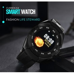 CURREN X4 Smart Watch Wearable Devices Sport For IOS Android