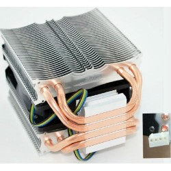 CPU Cooler 4 Heatpipe 4 Pins 9cm Fan