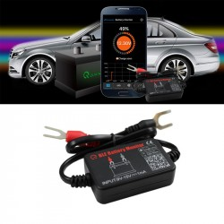 QUICKLYNKS Bluetooth Battery Monitor for Smart Phone