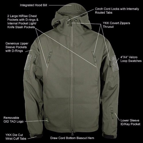 Outdoor Sports Thermal Softshell Jacket