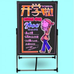 Large Flashing Illuminated Erasable Neon LED Writing Board