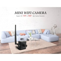Super Mini HD 960P Wireless WIFI IP Camera with Microphone SD Card