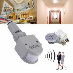 Outdoor PIR Body Motion Switch for LED Light