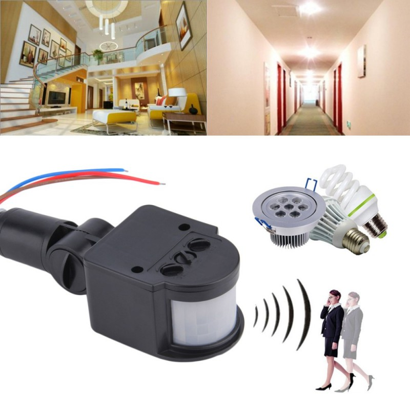 Outdoor motion sensor light adjustable for time and distance outdoor - Outdoor Pir Body Motion Switch For Led Light