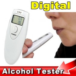 Mini Digital Professional Alcohol Breath Tester