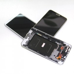 Samsung Galaxy Note 3 N9005 LCD Display Touch Screen Digitizer assembly With Frame