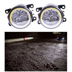 Angel Eye LED DRL Fog Light 9cm Diameter