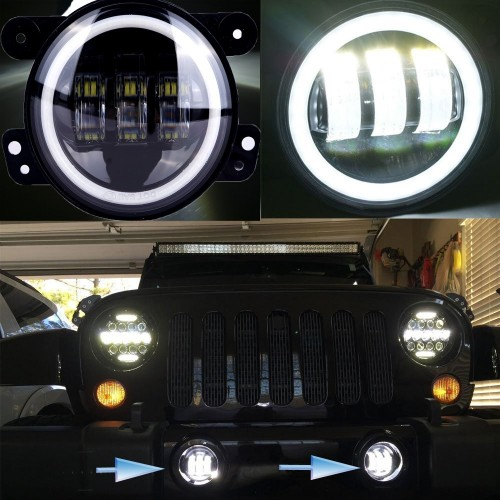 4 Inch 30W LED Fog Light  DRL