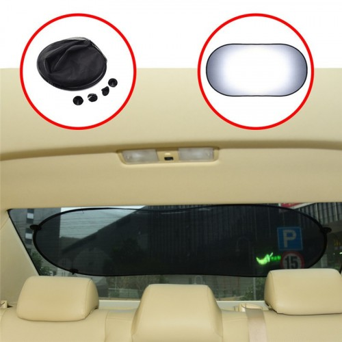 Car rear windows sun shade mesh 100x50cm