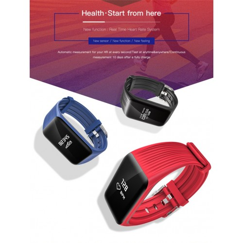 Fitness Tracker K1 Smart Bracelet Real-time Heart Rate Monitor Activity Tracker