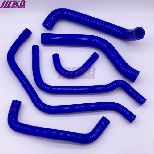 Silicone Radiator Coolant Heater Hose KIT FOR Alfa Romeo 156 2.0 (6pcs)