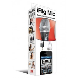 iRig microphone for  iPhone  iPad iPod Touch