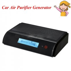 Car Air Purifier Generator HEPA Activated Air cleaner
