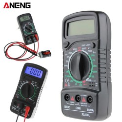 ANENG XL830L Digital Multimeter Portable multi meter ACDC voltage meter DC Ammeter resistance teste