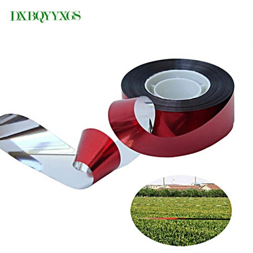2PcsSet Environmental ProtectionDrive Away The Birds Orchard Belt PET NO Harm The Bird Tape Double