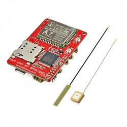 Elecrow A7 GSM GPRS GPS Module with Mega32U4 3 In 1 Development Board GPRS GPS Wireless IOT Projects