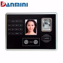 Danmini A602 4 in 1 Face Fingerprint ID card Password Time Attendance 28 inch TFT Machine Identific