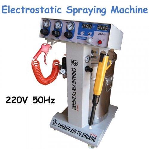 1pc Intelligent Electrostatic Spraying Powder High Pressure Spraying MachineSpray Machine Coating