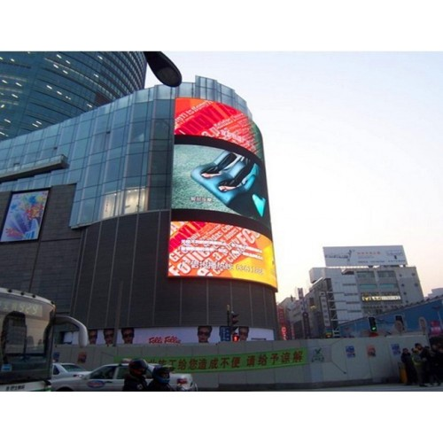 Full Color Outdoor LED Display 160 Degrees Viewing Angle and 20mm Pitch