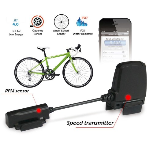 Bluetooth ANT Sensor Wireless Bicycle Computer Fitness Tracker Bike Speedometer Bike Speed Cadence