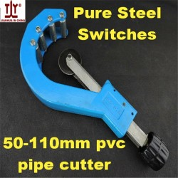 Factory Wholesale Plumber Tools DN 50-110mm PVC pipe cutters trunking dual-purpose scissors also f