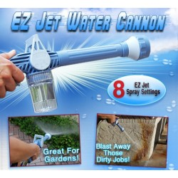 VILEAD New Arrival ABS Jet Water Cannon Eight in One Multi-functional Water Cannon Gun Spray Garden