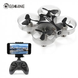 2017 Eachine E012HW Mini WIFI FPV With Altitude Mode 24G 4CH 6 Axis LED RC FPV Quadcopter Drone Toy