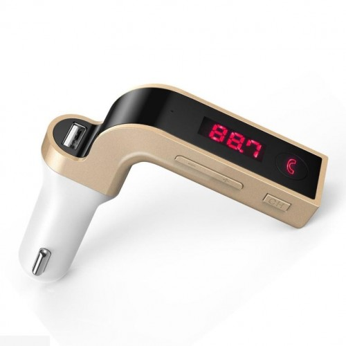 Car MP3 Music Player G7 Bluetooth Car Kit Handsfree FM Transmitter Radio MP3 Player USB Charger amp