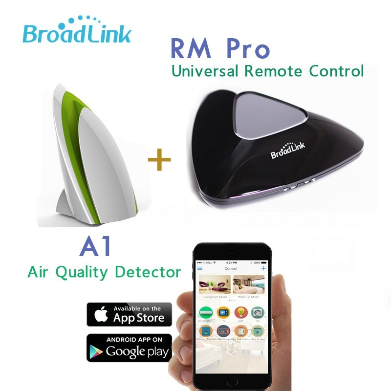 Broadlink RM Pro WiFi Smart Home Universal Remote+Smart Automation